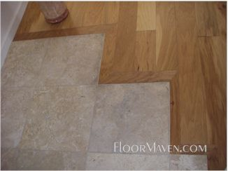 hickory-travertine-transition