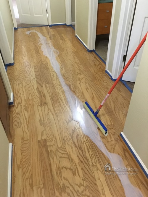 Sealer application in hall