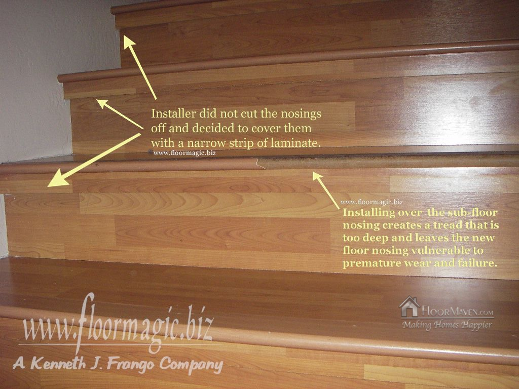Laminate Stair Failure Copy